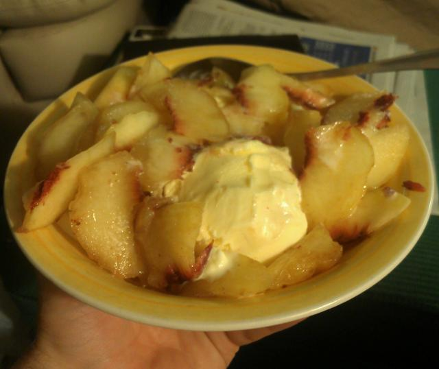 Peaches & Ice Cream is also a much welcomed treat. :)