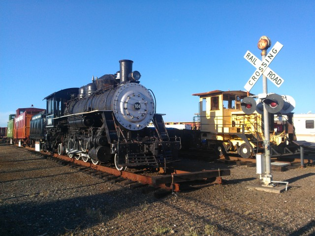 The Oregon Coast Historical Railway in Coos, OR.